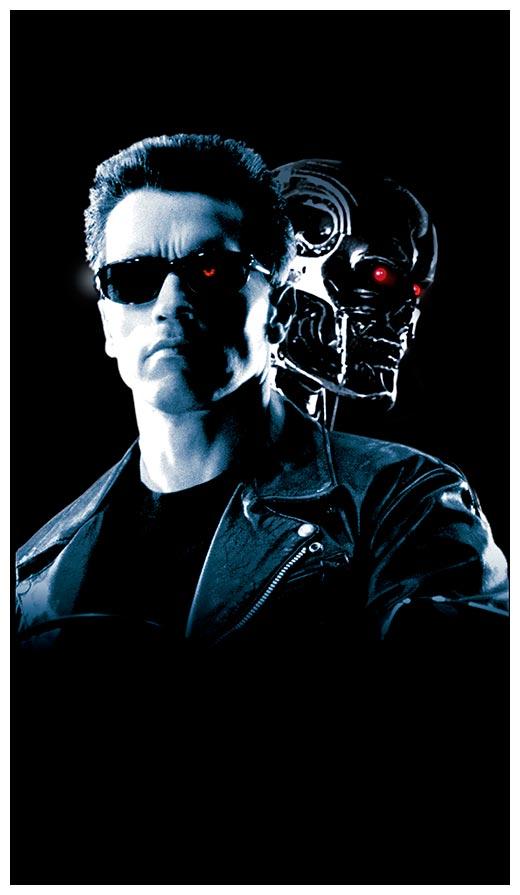 Хардпостер (на твёрдой основе) Terminator / Терминатор